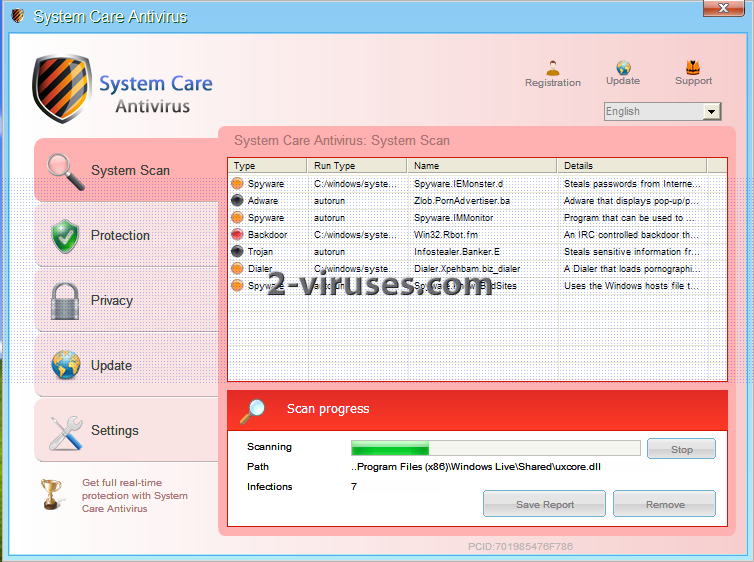 System Care Antivírus
