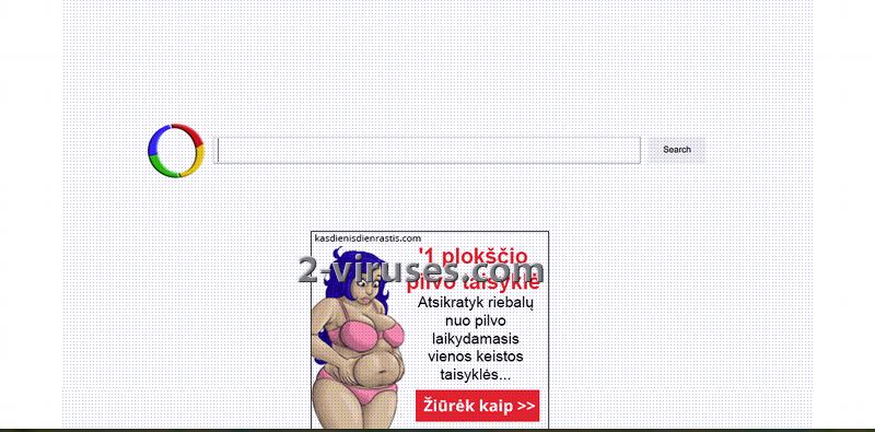 vírus Websearch.calcitapp.info