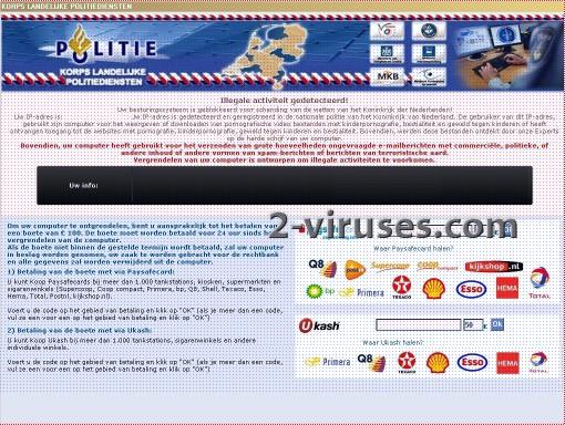 Korps Landelijke Politiediensten vírus