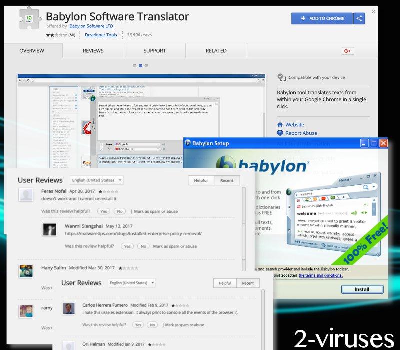 iSearch.babylon.com hijacker