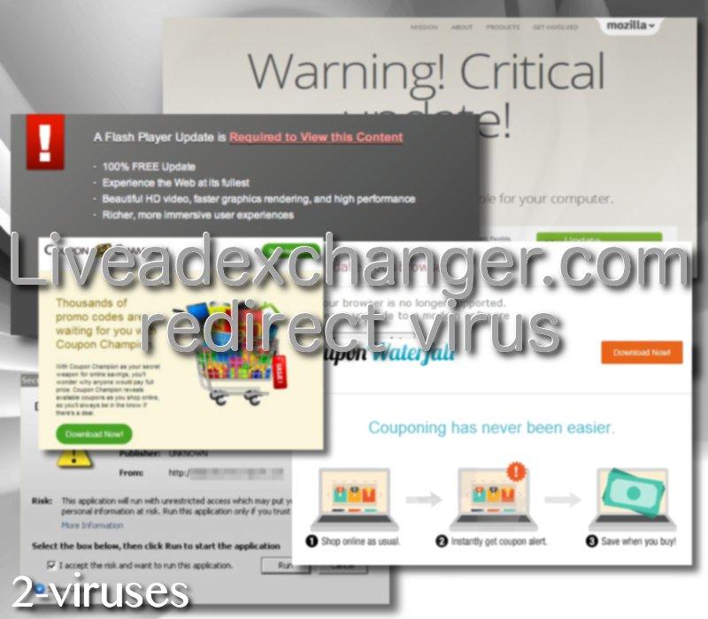 Liveadexchanger.com redirect virus