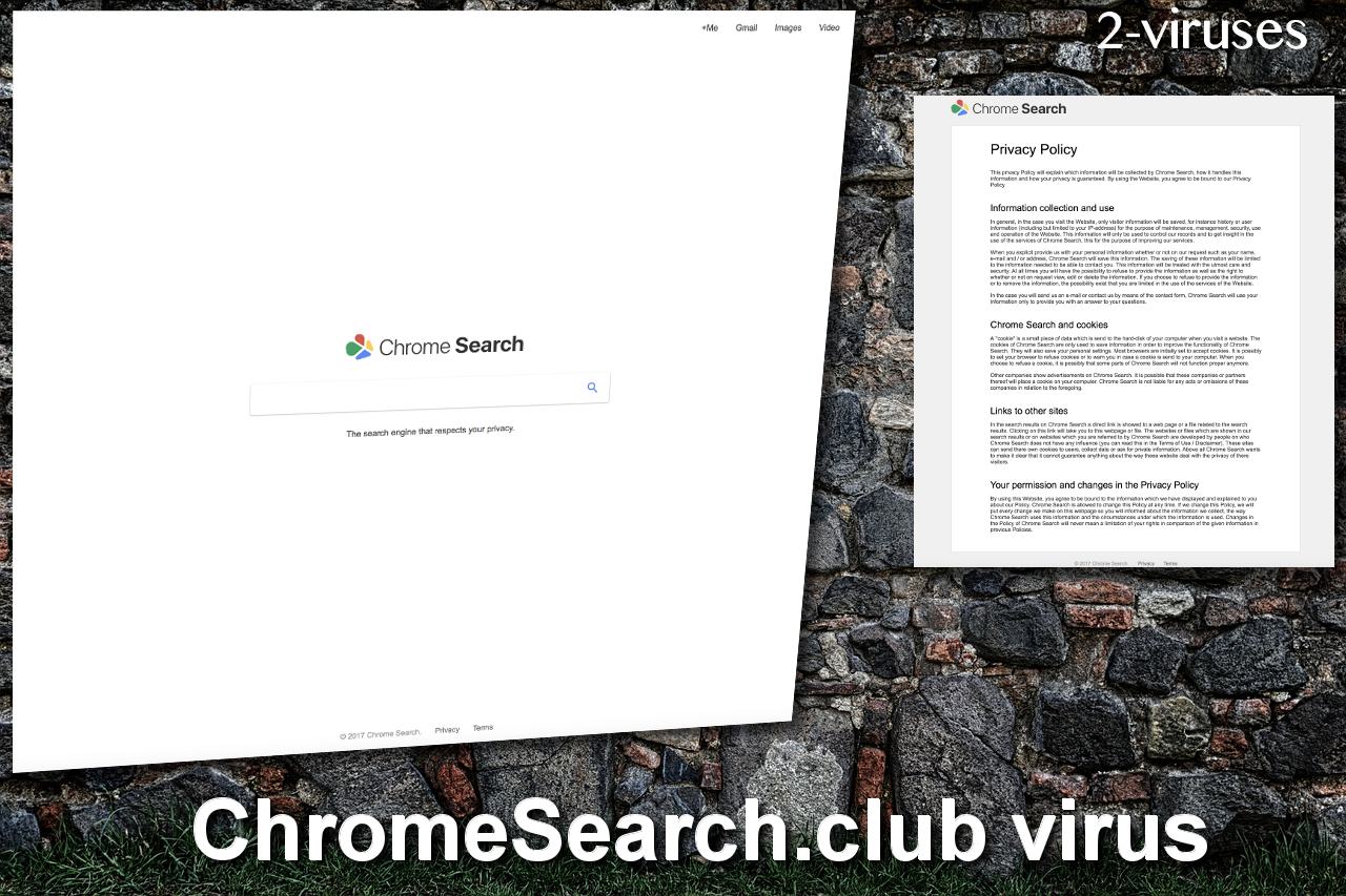 ChromeSearch.club virus remove
