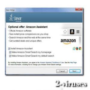 Vírus Assistente Amazon