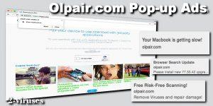 Anúncios pop-up Olpair.com