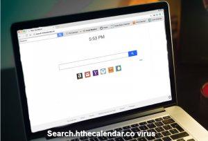 A pesquisa.hthecalendar.co vírus