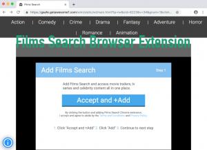 Extensão do navegador Films Search