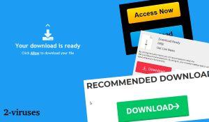 Anúncios e Redirecionamentos Download-alert.com